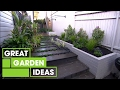 Inspirational Small Space Gardens | Gardening | Great Home Ideas