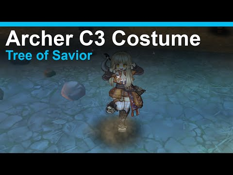 [Tree of Savior] Archer Circle 3 Costume Comparison