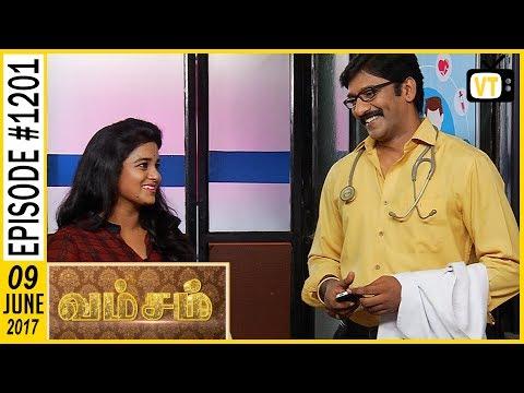 Vamsam - வம்சம் | Tamil Serial | Sun TV | Epi 1201 | 09/06/2017