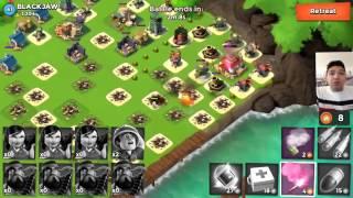 Chiến game Boom Beach với top 1 thế giới - BlackJaw :-ss