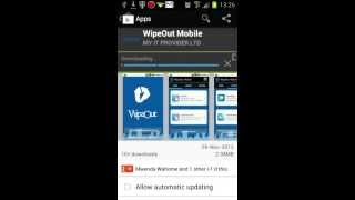 WipeOut Mobile YouTube video
