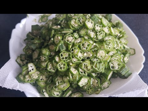 Behindi fry   Okra fry  Ladyfriger fry simple and very quick to make