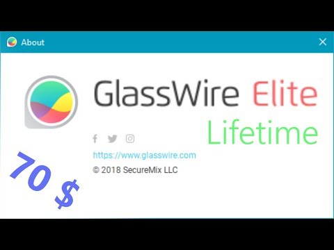 How to get a Glasswire Lifetime Elite License for only 70 dollar