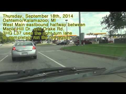 Person Records The Same Vehicle Running The Same Red Light At The Same Intersection For 6 Months!