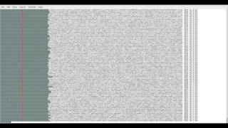 """This video shows a visualization of the hashes of the blocks on the Bitcoin blockchain which shows the difficulty increasing over time.Scripts used to produce output:Script 1 to export data from bitcoin-cli:for block in $(seq 1 $(bitcoin-cli getblockcount)); do  hash=""""`bitcoin-cli getblockhash $block`"""";   diff=`bitcoin-cli getblock $hash  grep """"^    """"difficulty"""" :""""  awk '{print $3}'  tr -d ','` date=`bitcoin-cli getblock $hash  grep """"^    """"time"""" :""""  awk '{print $3}'  tr -d ','` date2=`date -d @$date` printf """"%-65s %-8s %-22s %-15sn"""" $hash $block $diff """"$date2""""doneScript 2 to produce output file:cat hashes  while read line; do hash=`echo $line  awk '{print $1}'  tr [a-z] [A-Z]` height=`echo $line  awk '{print $2}'` date=`echo $line  awk '{print $5 """" """" $6 """" """" $9}' ` export BC_LINE_LENGTH=300 bin=`echo """"ibase=16;obase=2;$hash""""  bc ` length=${#bin} zeros=`expr 256 - $length` for zero in `seq 1 $zeros `; do   if [ """"$zero"""" -eq 32 ] ; then   echo -n -e 'E[37;41m'""""033[1m0033[0m""""  else   echo -n -e 'E[33;44m'""""033[1m0033[0m""""  fi done printf """"%-20s  %-7s %-12sn"""" """"$bin""""  """"$height""""  """"$date""""done"""