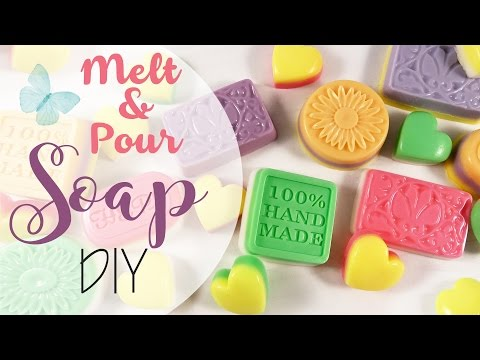 come realizzare delle colorate e profumate saponette fatte in casa!