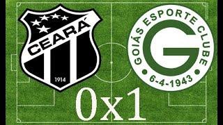 Gol de Ceará 0 x 1 Goiás.