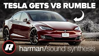 Fake engine noise for EV's is Harman's sound synthesis tech hard at work by Roadshow