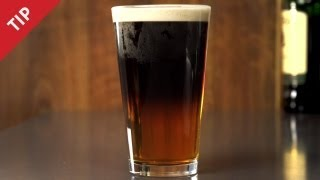 How to Pour a Black and Tan