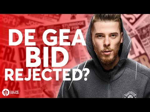 De Gea Bid REJECTED? Tomorrow's Manchester United Transfer News Today! #2