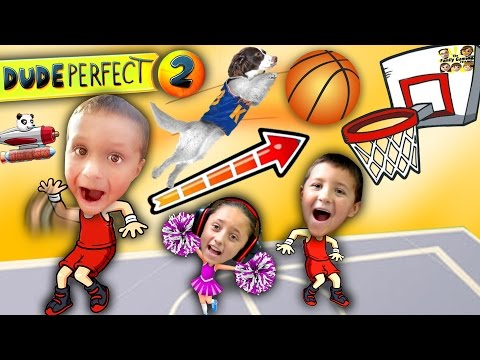 Video Kids Make Impossible Basketball Shot! DUDE PERFECT 2! (FGTEEV Gameplay / Skit) download in MP3, 3GP, MP4, WEBM, AVI, FLV January 2017
