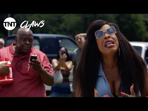 Claws: What Are You Doing Up There? - Season 1, Ep. 5 [CLIP] | TNT