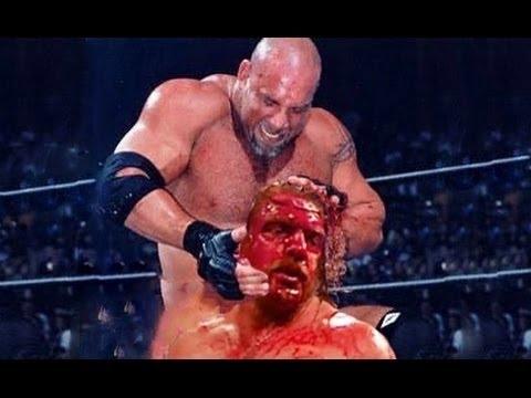 goldberg vs triple h unforgiven 2003  | unforgetable match in the history of wwe | [Wrestle Freak]