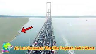 Download Video Viral! Fenomena Laut Madura Terbelah Jadi  Dua Warna, Pertanda Apa ini? MP3 3GP MP4