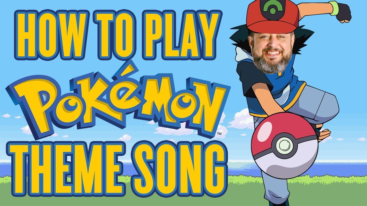 Pokemon Theme Song – Guitar Lesson