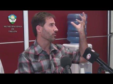 Reunión de Adrián Maderna en la UNPSJB