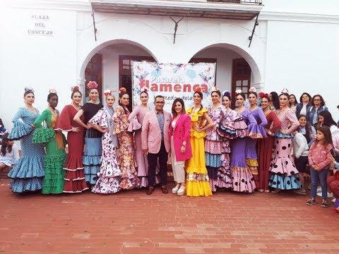 Pasarela Flamenca en La Redondela -Isabel Araujo.