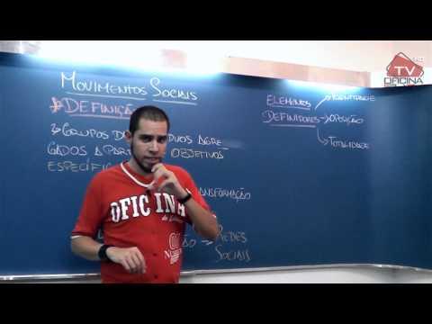 Dica de Sociologia - Movimentos Sociais