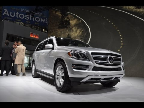 Mercedes-Benz  2013 Mercedes-Benz GL -- 2012 New York Auto Show