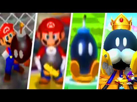 Evolution of Bob-omb Minigames in Mario Party Games (1998 - 2017)