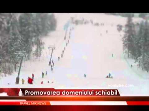 Promovarea domeniului schiabil – VIDEO