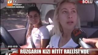 Burcu Burkut Erenkul - ATV - Ana Haber Bülteni - Hitit Rallisi - 2010