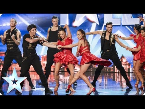 to the stage - See more from Britain's Got Talent at http://itv.com/talent The chemistry is clear between Kings and Queens and no wonder - the dance group is made up mostly...