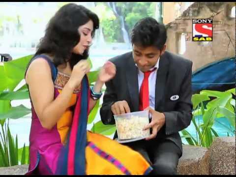 Chintu & Pinky in a restaurant