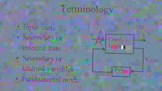 lecture 16 - Asynchronous Sequential Circuit