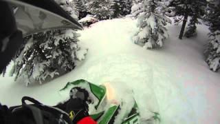 7. M1100T HCR Powder Tree Riding in Colorado