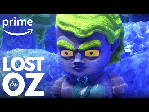 Lost in Oz Season 1, Part 2 - Clip: Gnome Dance   Prime Video Kids