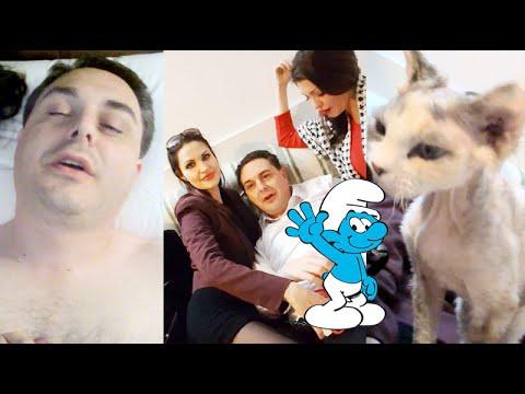 IL CASTROFATTO, I PUFFI E IL GATTO ALIENO! Vlog con Andrea Diprè e Eden (видео)
