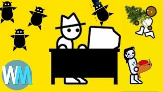 """Top 10 Greatest Zero Punctuation Episodes of All Time // Subscribe: http://goo.gl/Q2kKrD // TIMESTAMPS BELOWBe sure to visit our Suggest Tool and Submit Ideas that you would like to see made into Top 10 videos! http://www.WatchMojo.com/SuggestThere have been a lot of great Zero Punctuation quotes over the years. Since Ben """"Yahtzee"""" Croshaw launched, some of the best Zero Punctuation reviews have included His """"Resident Evil 5"""" takedown, his """"Final Fantasy XIII"""" critique and his assessment of """"Animal Crossing: New Leaf"""" and its addictive qualities. To celebrate Zero Punctuation launching on July 24, 2007, WatchMojo counts down ten of the best Zero Punctuation moments ever.If you want to check out more of our 'Best of YouTube' series TopX, click here: https://www.youtube.com/playlist?list=PLmZTDWJGfRq3IHX2WNlQ5j4lyAQ395JQS, and find videos like Top 10 Epic Rap Battles of History: https://youtu.be/_CPrxRuriM0 and Top 10 Scariest YouTube Videos: https://youtu.be/P7EBqsMU6jY. 00:39 #10: """"Ride to Hell: Retribution"""" (2013) 01:36 #9: """"Fallout: New Vegas"""" (2010) 02:25 #8: """"Final Fantasy XIII"""" (2010) 03:17 #7: """"Animal Crossing: New Leaf"""" (2013) 04:09 #6: """"The Witcher"""" (2008) 04:52 #5: """"Resident Evil 5"""" (2009) 05:41 #4: """"Mailbag Showdown"""" (2008) 06:37 #3, #2 & #1 ??? Special thanks to our users DMG98, Delook aroo, Steven Choza and Jorge Hernandez for suggesting this idea! Check out the voting page at http://www.watchmojo.com/suggest/Top%20Ten%20Zero%20Punctuation%20Episodes Our Magazine!! Learn the inner workings of WatchMojo and meet the voices behind the videos, articles by our specialists from gaming, film, tv, anime and more. VIEW INSTANTLY: http://goo.gl/SivjcXWatchMojo's Social Media Pageshttp://www.Facebook.com/WatchMojohttp://www.Twitter.com/WatchMojo http://instagram.com/watchmojo Get WatchMojo merchandise at shop.watchmojo.comWatchMojo's ten thousand videos on Top 10 lists, Origins, Biographies, Tips, How To's, Reviews, Commentary and more on Pop Culture, Celebrity, M"""