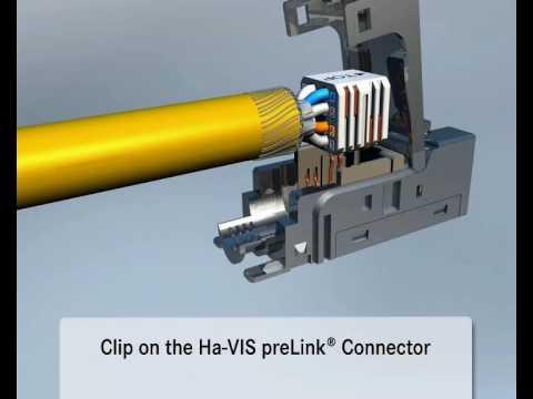 Harting Ha-VIS preLink Data Network Connector