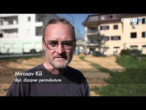 Tečaj permakulture u vrtu zajedničkog kućanstva
