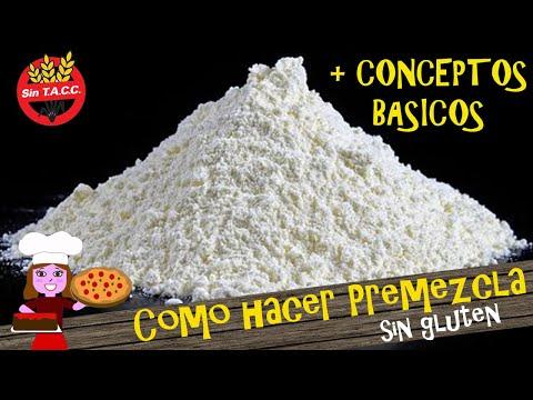 Como hacer la premezcla sin gluten |Conceptos básicos de la celiaquía| #1 Cocina sin gluten desde 0