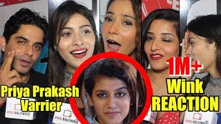 Celebrities Reaction On Priya Prakash Varrier Viral Wink