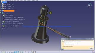Catia V5 Tutorial|P5 Assemble Screw Jack|Quick Constraint|Mechanical Design Engineering