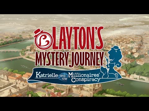 Latest Game in the 'Professor Layton' Series 'Layton's Mystery Journey' Hits the App Store