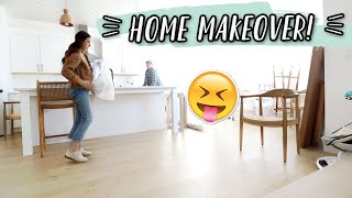 FIRST DAY OF OUR HOME MAKEOVER!! by Aspyn + Parker