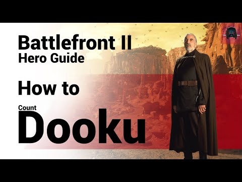 Moustache - How To Count Dooku - Battlefront 2 - Complete And Updated Hero Guide
