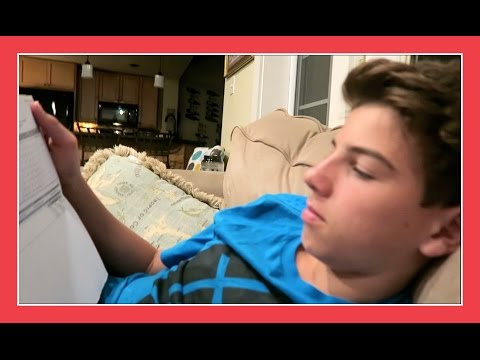 BRENNAN GETS HIS REPORT CARD | Flippin