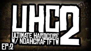 """ENTIRE TEAM BATTLE!"" Minecraft UHC (Ultra Hardcore) Season 2 Ep.2 w/BajanCanadian, JeromeASF"