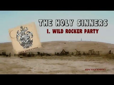 THE HOLY SINNERS - Wild Rocker Party (Spicy Rock'n'Roll)