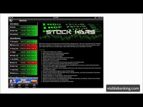 GAMIFICATION Stock Wars App for iPad - Virtual Investing [Video Review]