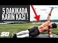 5 DAKİKADA KARIN KASI YAP!!!   Dev Çekiliş EFSANE HEDİYELER!!!