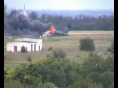 Op 10 juli 2006 strotte een Toepolev 134 neer in Oekraïne