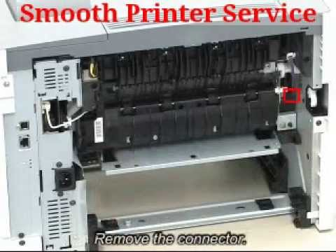How to Removing the Fixing Unit on Canon LBP6680