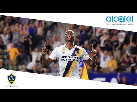 Video: Gyasi Zardes makes it 3-0 for the LA Galaxy | Alcatel Moment of the Match