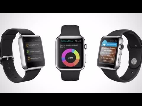 Salesforce for Apple Watch Demo
